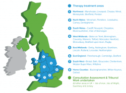 CTS - Areas we work in across the UK